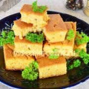 Пирог из кукурузной муки