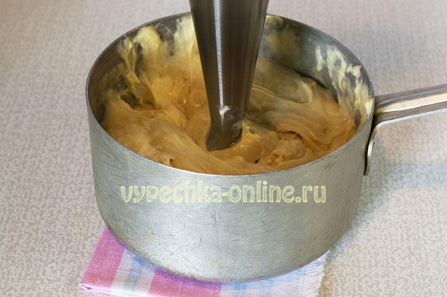 Эклеры с масляным кремом