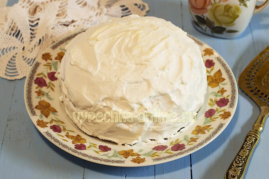 Торт-мороженое Аляска