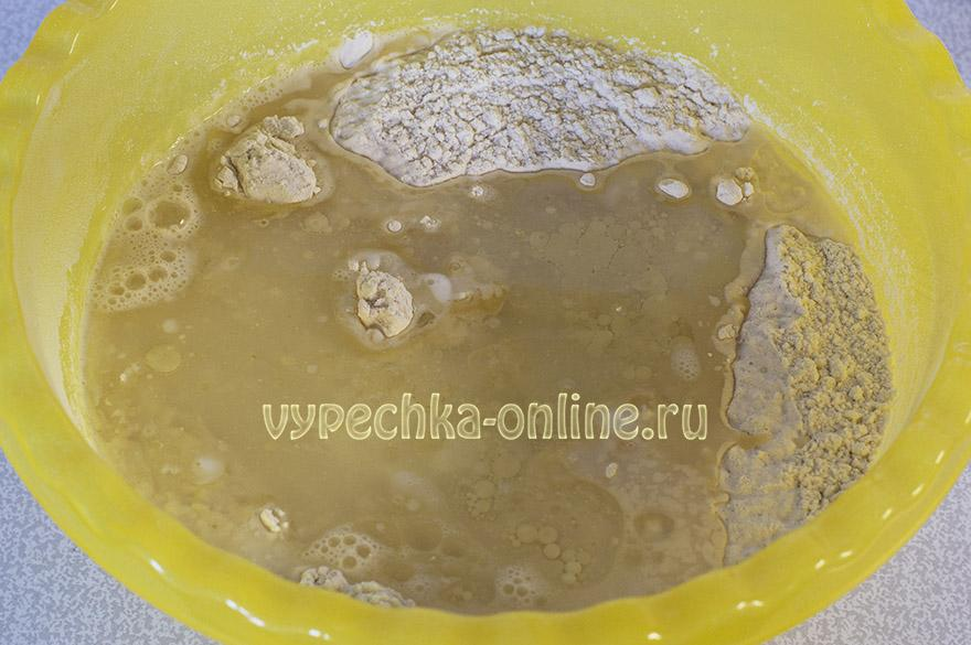 Дрожжевое тесто для пирожков без яиц