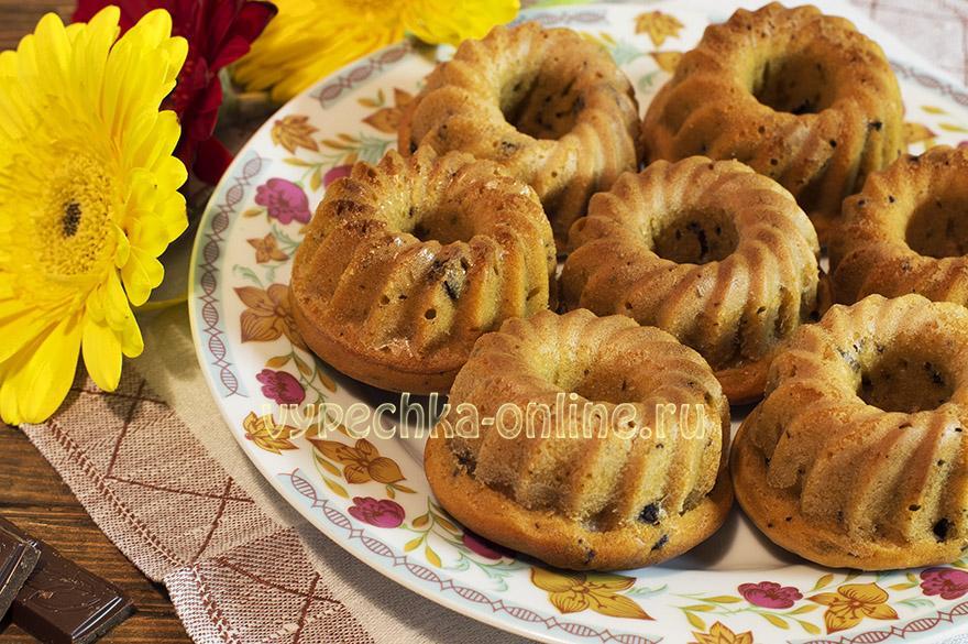 Кексы с вареной сгущенкой