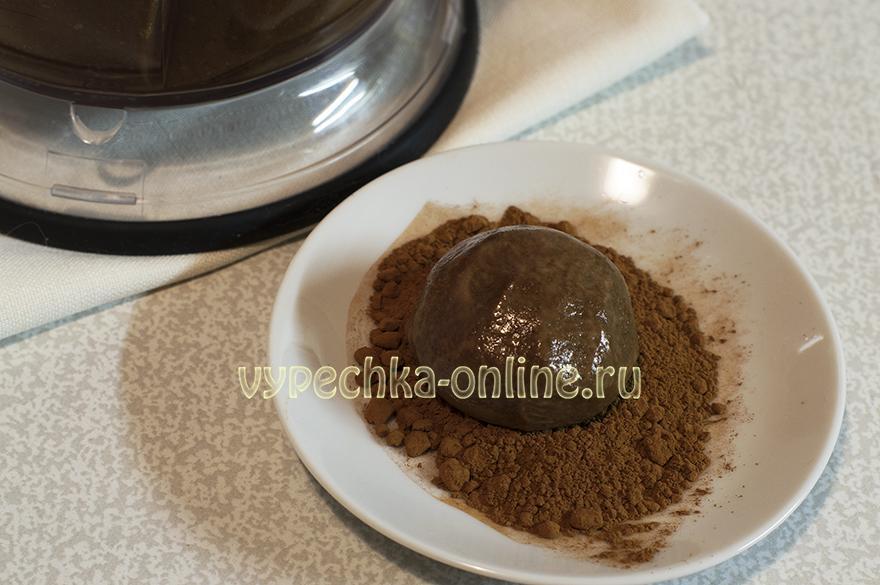 Постные конфеты шоколадные