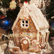 Пряничный домик на Рождество