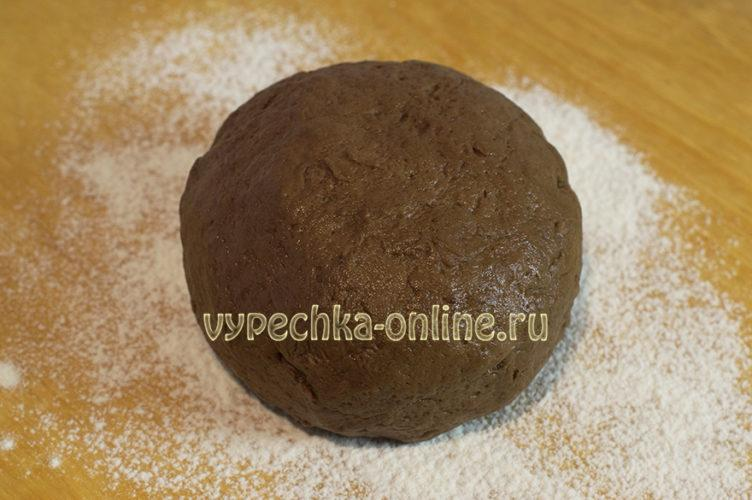 Шоколадное рождественское печенье