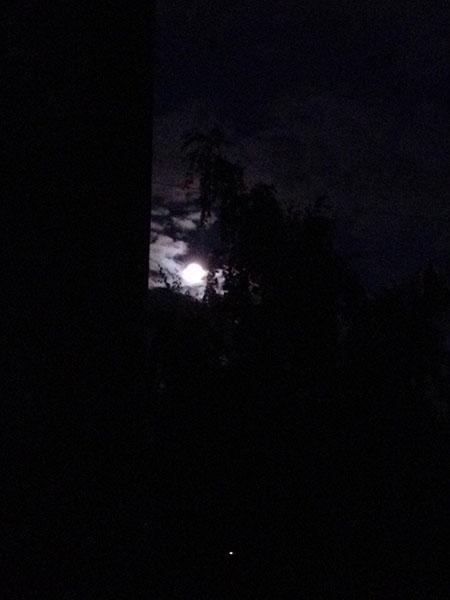 Красивая луна