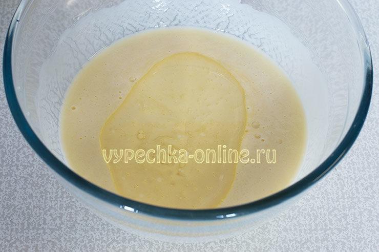 Пирог с вареными яйцами и зеленым луком