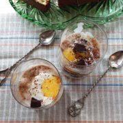 Десерт с мороженым