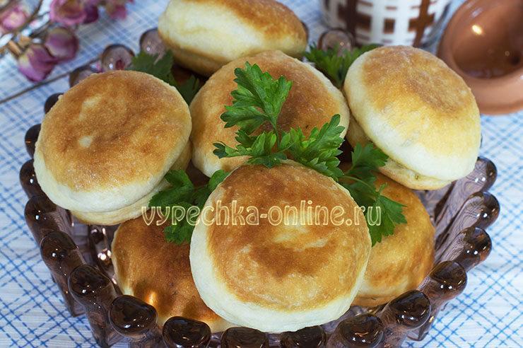 Пончики из дрожжевого теста с начинкой