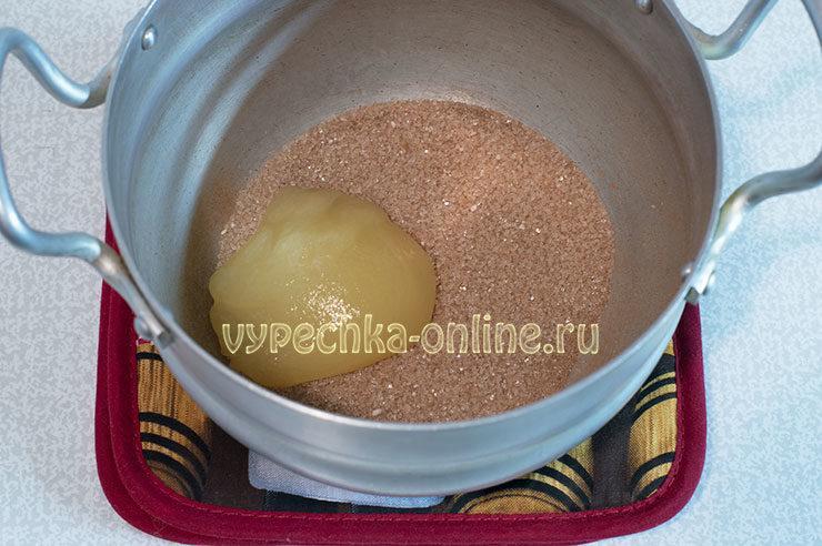 Итальянское бискотти с медом и корицей