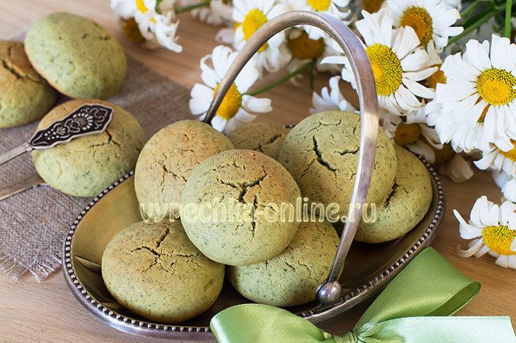 Печенье с мятой рецепт