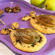 Печенье с грушами и корицей