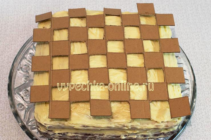 Торт Шахматная доска