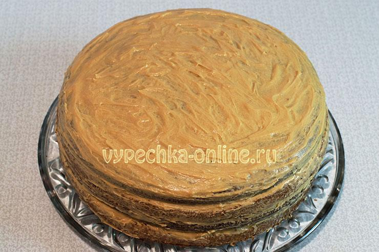 Бисквитный торт своими руками рецепт