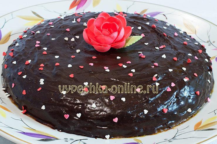 Рецепт торта Прага по госту в домашних условиях