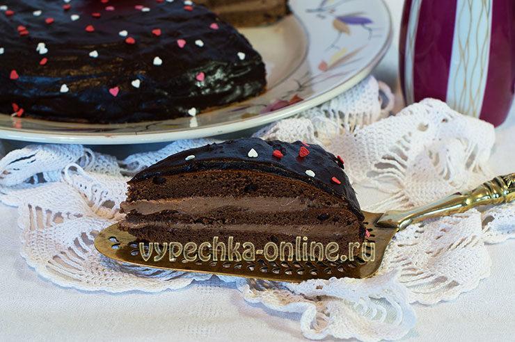 Торт Прага классический рецепт по госту