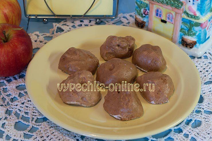Домашний зефир из яблок с желатином