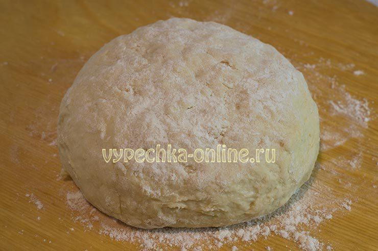 Тесто на кефире для печенья