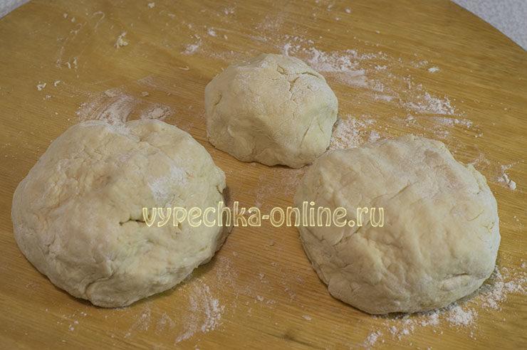 Мягкое тесто на кефире