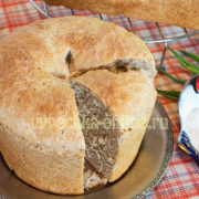 Хлеб из полбяной муки в духовке