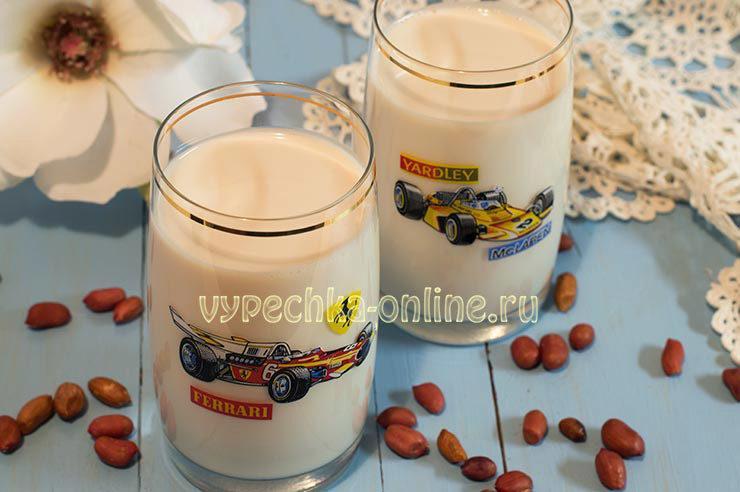 Арахисовое молоко в домашних условиях