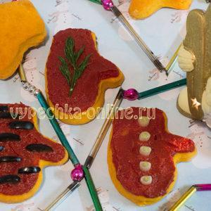 Печенье Рукавичка