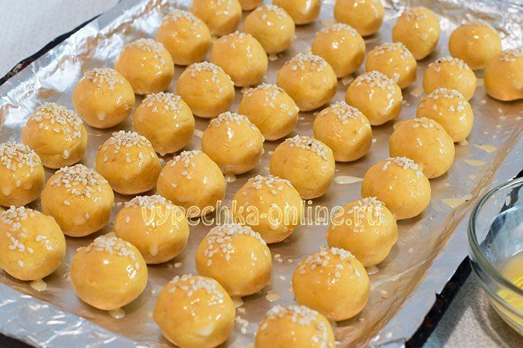 Сырные шарики с начинками