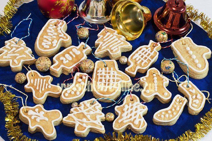 Имбирные пряники на Рождество