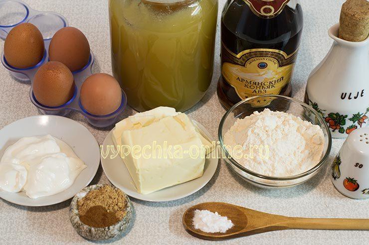 Как готовить имбирные пряники Ингредиенты