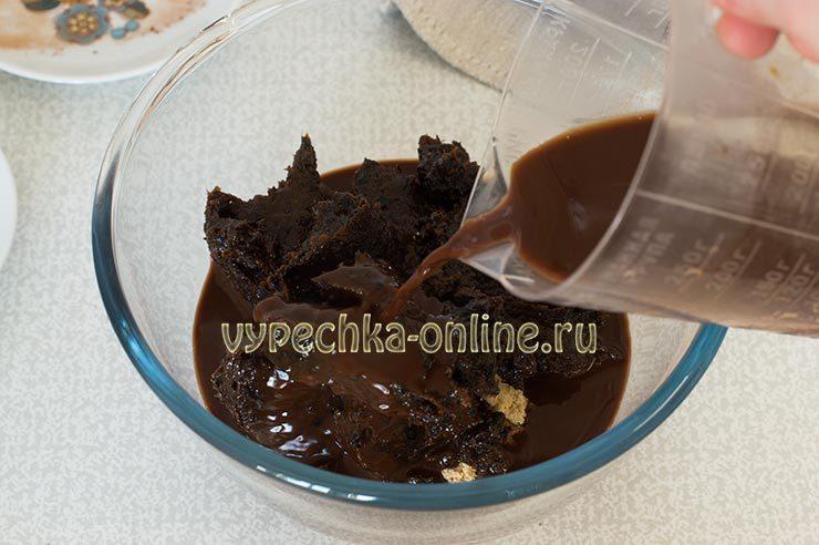 Десерт из печенья без выпечки рецепт