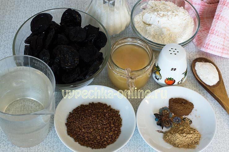 Медовая коврижка простой рецепт Ингредиенты