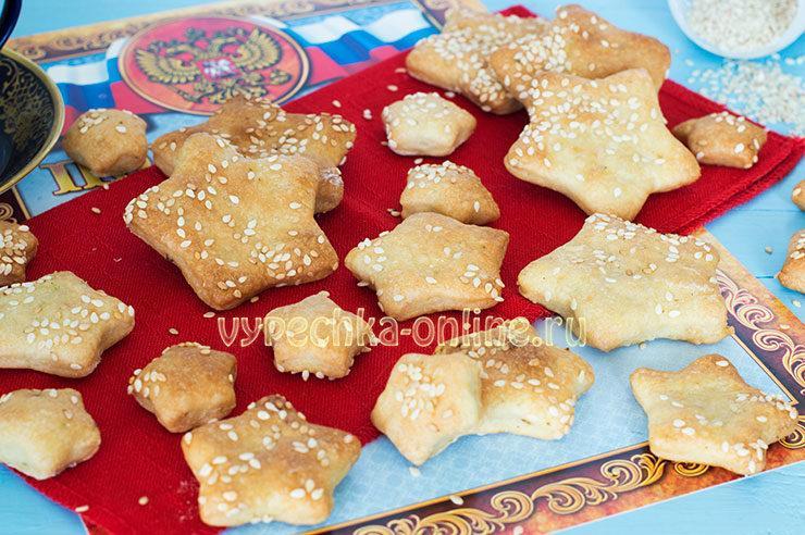 Печенье на 23 февраля фото