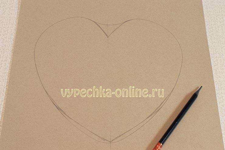 обрезать фото по форме сердца онлайн