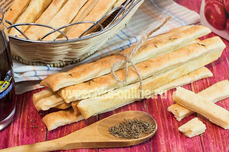 Печенье на рассоле и растительном масле