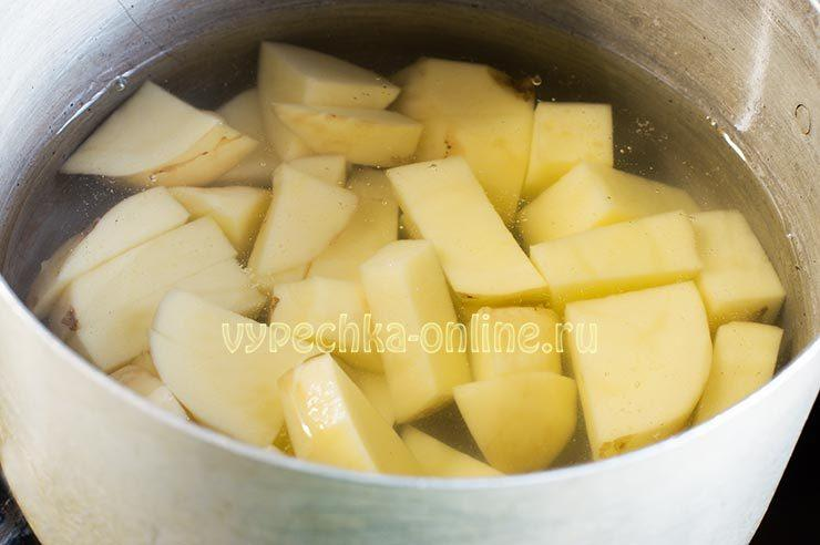 Начинка для вареников с картошкой