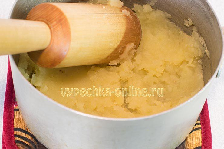 Начинка для вареников с картошкой и овощами