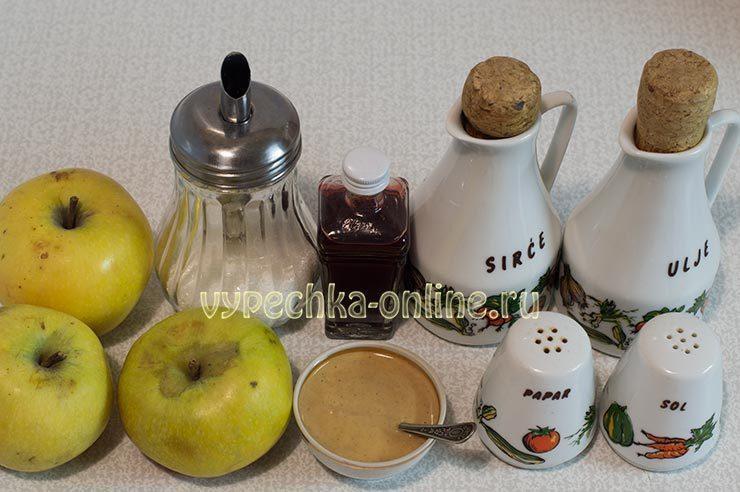 Постный майонез из яблок
