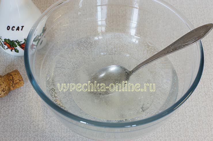 Постное тесто для вареников на минеральной воде