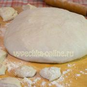 Тесто для вареников на минералке лучший рецепт без яиц