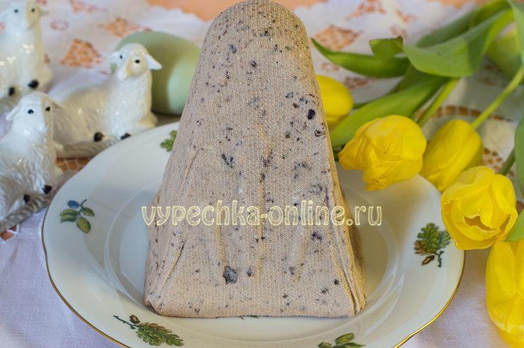 Творожная пасха без выпечки рецепт с фото пошагово