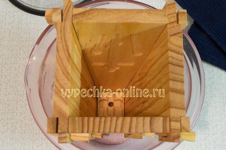 творожная пасха без выпечки рецепт с фото