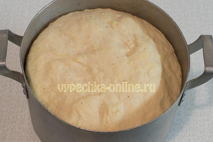 Постное дрожжевое тесто мягкое вкусное