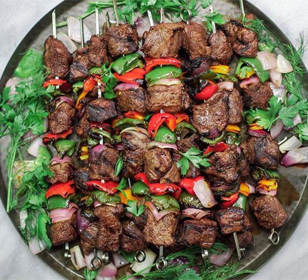 Маринад для шашлыка из говядины и свинины с красным вином