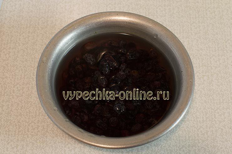 Кулич пасхальный с изюмом рецепт