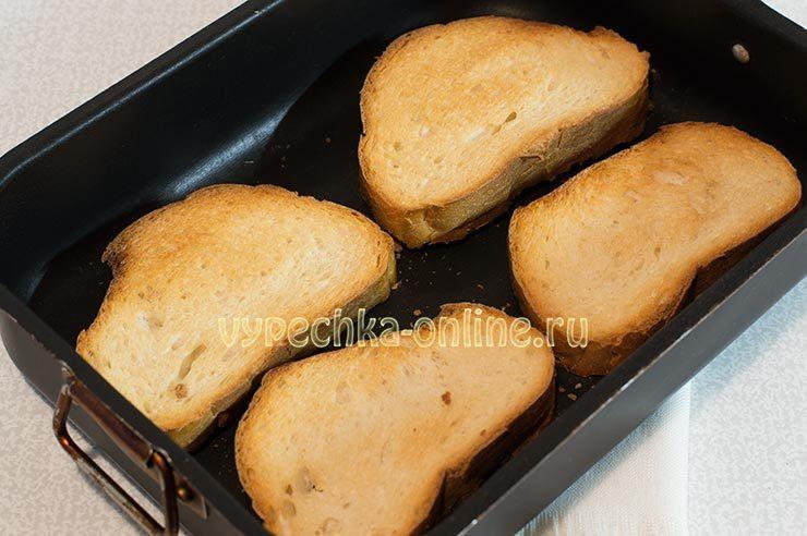 бутерброды с сосисками в духовке
