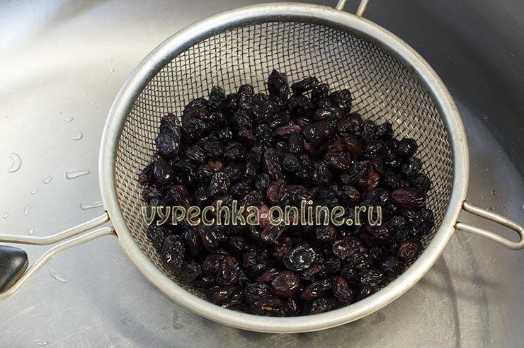 вкусный рецепт кулича с изюмом