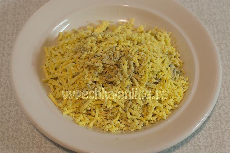 творожная пасха с вареными желтками рецепт с фото