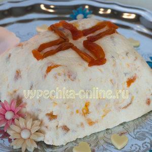 Пасха творожная рецепт без яиц