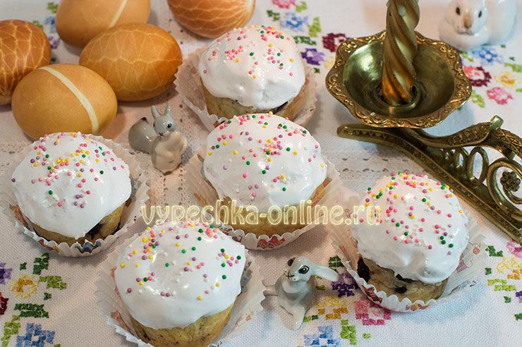 Пасхальный кулич самый вкусный рецепт с фото пошагово