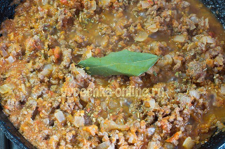 Соус болоньезе для лазаньи в домашних условиях