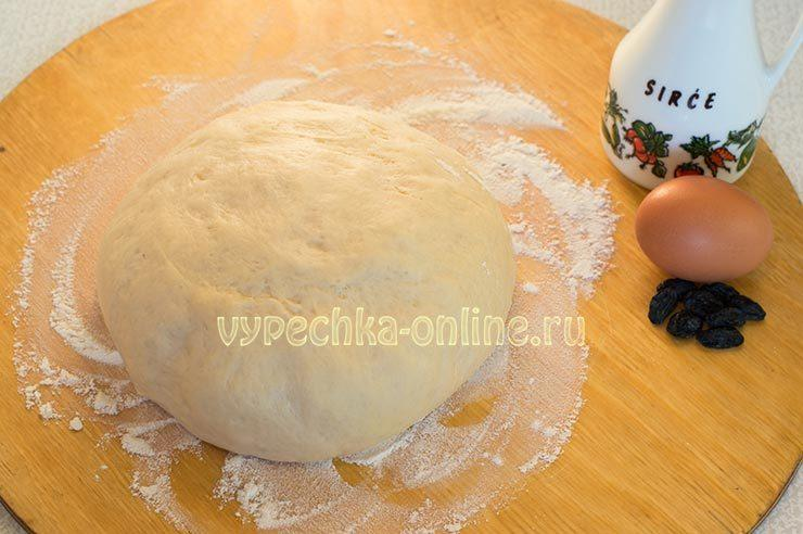 Пышные булочки из дрожжевого теста Ингредиенты